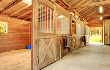Audley End stable construction leads